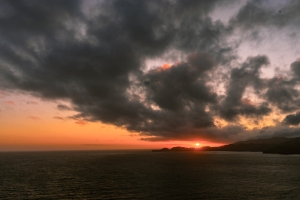 Sunset Over The Headlands