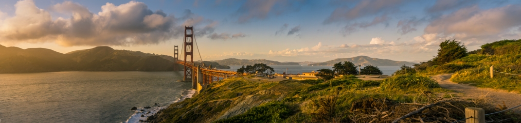 A Golden Gate Panorama